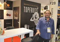 Gérard Fabre from Topfruits has got many sweet potato imports from USA and Israel