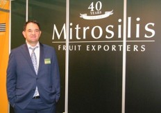 Export Director Christos Mitrosilis of Mitrosilis SA (Greece); it was 2015 when the company decided to expand their products adding kiwi into their list and looking forward to add more products.