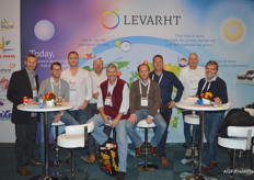 Levarht is present at the trade show this year as well.