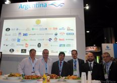 The team of JetCargo and Manuel Carmona of Fundacion ExportAr Argentina