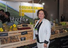 Rosy Segura from Procomer, promotion office for Costa Rican companies