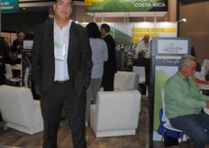 Zacarías Ayub from Procomer, export promotion agency of Costa Rica
