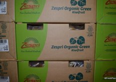 Organic kiwifruit for Zespri.