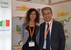 Mioorto is a vegetable processing company with a wide variety of salad mixes. Marco Bertoli and Laura Pedrini.