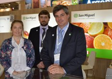 San Miguel, Okrana Kisieliuk, Andres Halova and Rodolfo Massone. They focus on avocados, grapes and citrus from South Africa, Argentina and Uruguay.