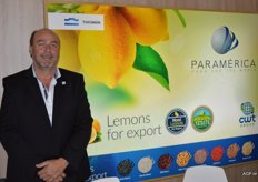 Paramérica supplies lemons worldwide. Jose Cand
