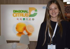 Diagonal Citrus is also a lemon exporter. Eugenia Paz Posse.