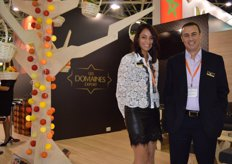 Les Domaines Agricole is a Moroccan company. Their products, like melons, citrus, tomatoes and grapes find their way all over the world. Kenza Ouali and Boubker Zahni.