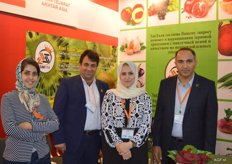 Taktay from Iran supplies kiwis en other fresh produce products year round. Interpretor, Mr. Maghami, Farzaneh Hamidpour, Hasan Akbari Moein.