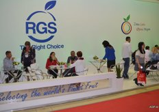 RGS, a Russian importer, had a strong stream of visitors.