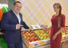 Agronome Sad, Bruno Marmet, a Frenchman, manages 1 600 hectare of orchards in the Russian region, Lipetsk (about 1 000 km from Moscow). Varieties grown here include Honey Crisp, Spartau, Ligol and Lobo.