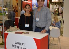 Lofruit, Alejandra Aburto and Raymundo Chavez. Limes, pineapples, mangoes, asparagus and soft fruit from Mexico.