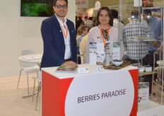 Berries Paradise supply blueberries, raspberries and blackberries. Carlos Madarlaga and Ana Blanca Solis.
