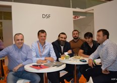 There were six Belgian stand holders present. DSF (Dries Sebrechts Fruit): Farhad Mizzoev, Dries Sebrechts, Vadim Onischenk and clients.