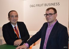 D&G Fruit Business, Timur Akhmetov and Konstantin Jegorov of the Evged Group.