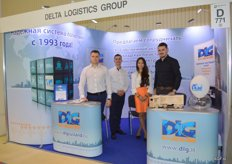 DLG Delta Logistics Group. Daniel, Jevgemij and on the right, Mark.
