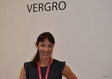 Elena Leonovich of Vergro. She works as a quality and credit controller for Vergro in St Petersburg.